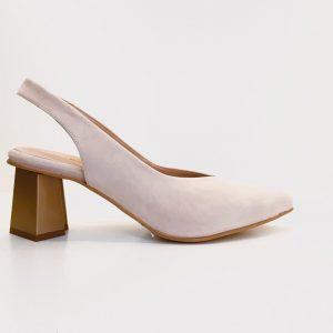 Zapato salón destalonado RENETTI nude