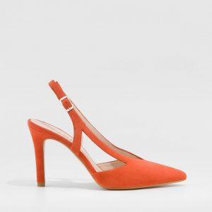 Zapato destalonado LODI rupis coral
