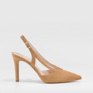 Zapato destalonado LODI rupis camel
