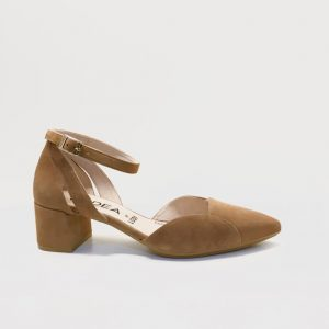 Zapato gadea pulsera camel