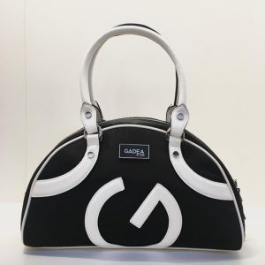 bolso de mano GADEA negro y blanco