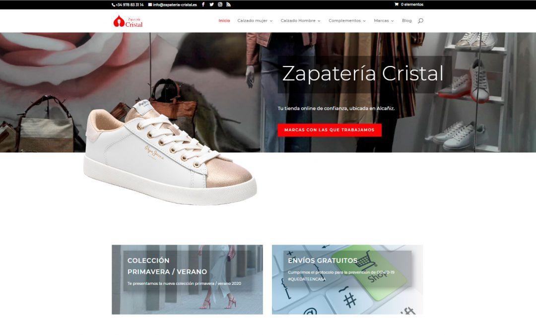 Home web Zapatería Cristal