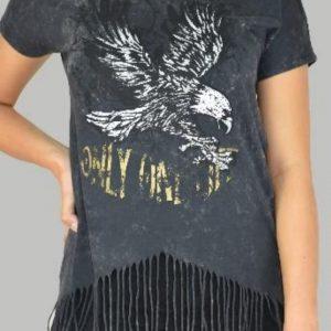 Camiseta gris dibujo PURA VIDA