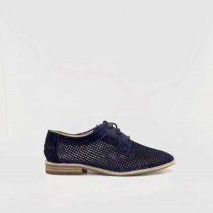 zapato, plano, GADEA, marino