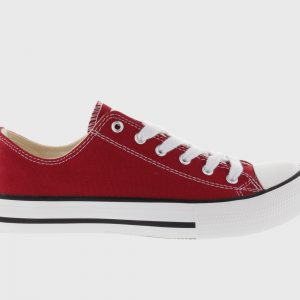 Zapatilla Victoria lona rojo 106550
