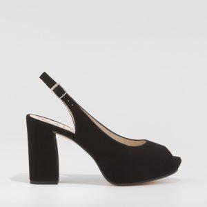 peeep toe, GADEA, negro, calzado, mujer, online