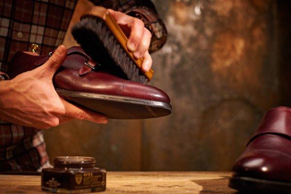 limpieza de calzado piel