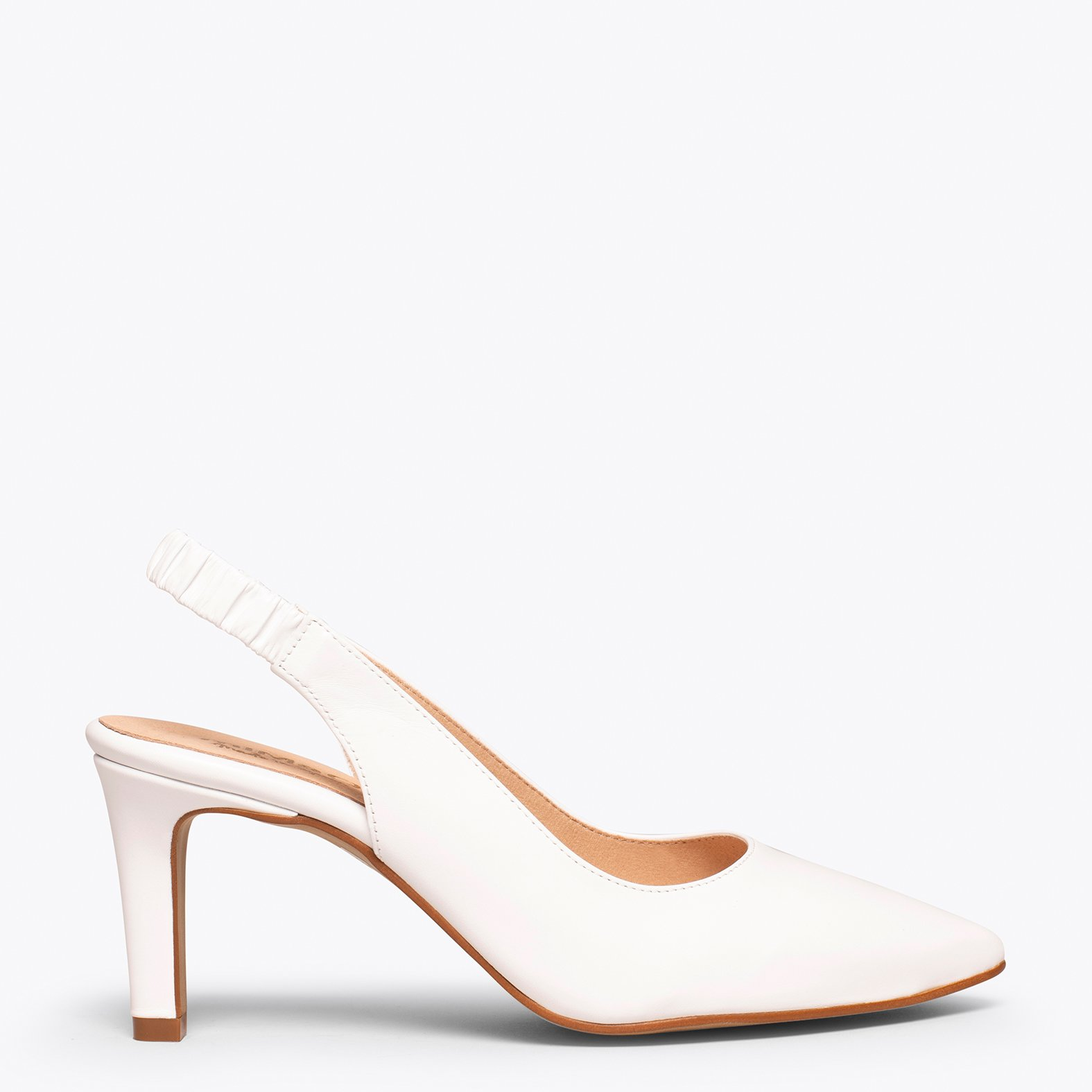 COCKTAIL Zapato destalonado BLANCO