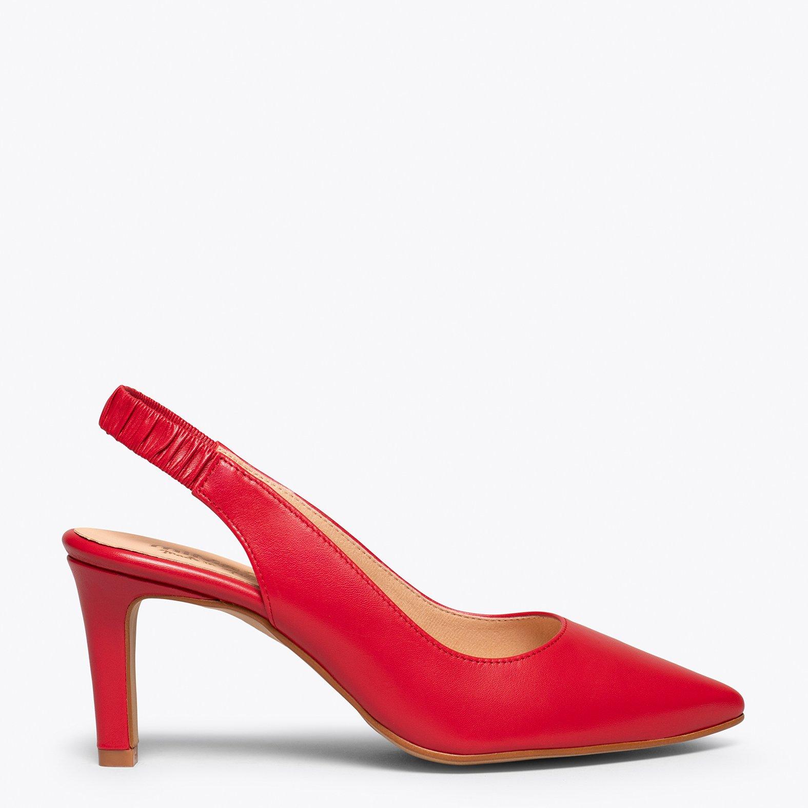 COCKTAIL Zapato destalonado ROJO