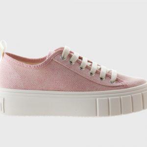 Zapatilla Victoria lona rosa 1270102