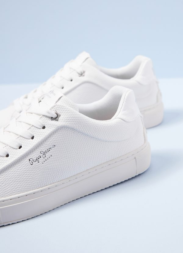 DEPORTIVA PEPE JEANS ADAMS COLLINS WHITE